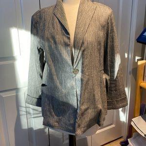 Post card blazer jacket meduim